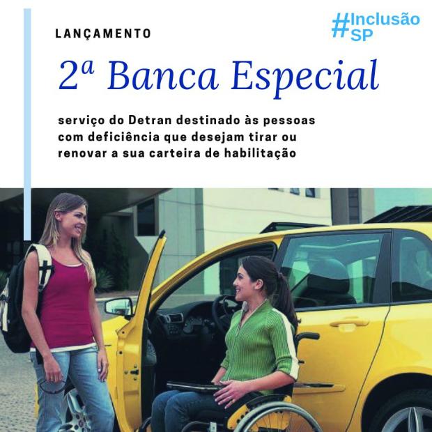 Lançamento de Banca Especial para pessoas com deficiência acontece em São Paulo