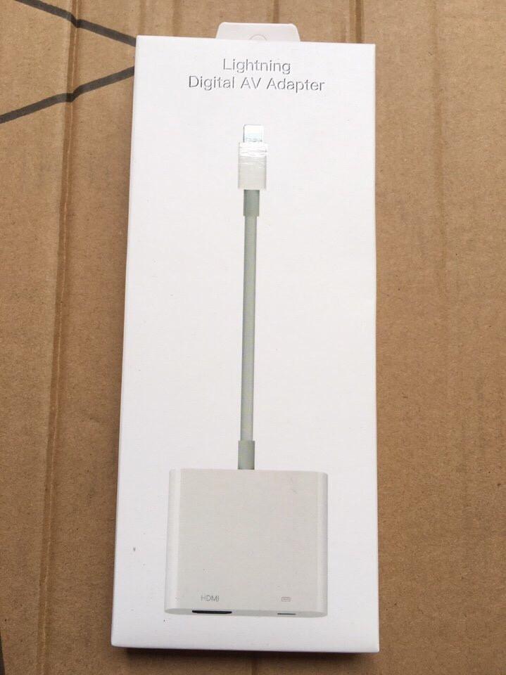 Cáp chuyển đổi iPhone 5 6 ra HDMI chính hãng full HD giá sỉ và lẻ rẻ nhất