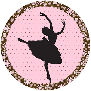 picture regarding Printable Ballerina Silhouette named Ballet: No cost Printable Toppers, Shots and Sweet Bar Labels