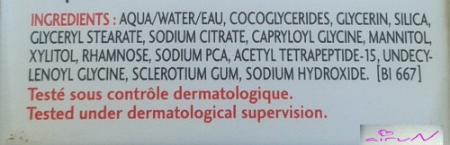 ingredientes sensibio tolerance bioderma