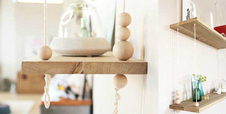 la fabrique d co des perles en bois pour d corer 5 id es diy. Black Bedroom Furniture Sets. Home Design Ideas