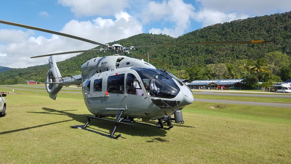 Central Queensland Plane Spotting Pacific Helicopters Ltd PNG Airbus Helic