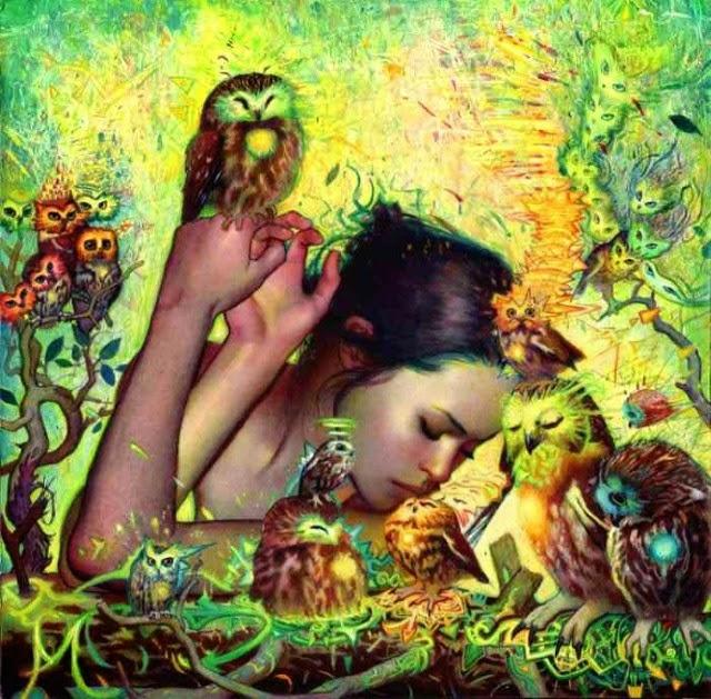 Художник из Австралии. Rodrigo Enrique Luff