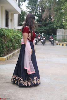 Actress Aathmika in lovely Maraoon Choli ¬  Exclusive Celebrities galleries 046.jpg