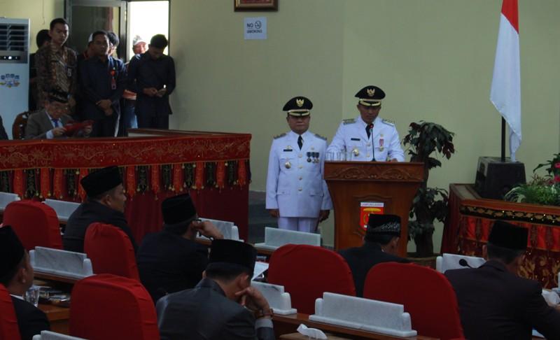 Parosil Sampaikan Pidato Perdana