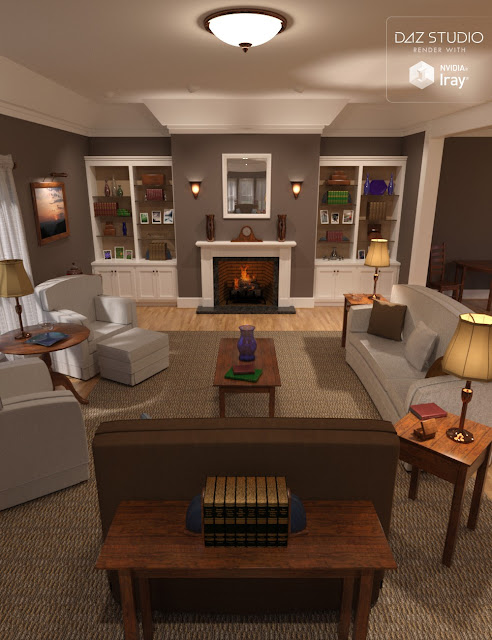 Simple Living - Living Room