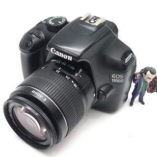 Kamera Canon 1100D Second di Malang