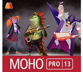 Moho Pro 13 (formerly Anime Studio)