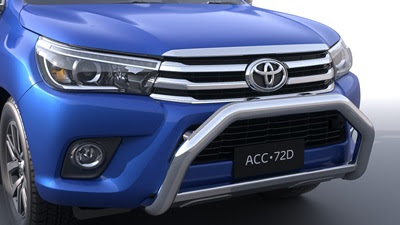 Toyota Hilux 2017 front bumper