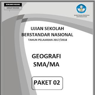 Soal Usbn Geografi 2019 Dan Kunci Jawaban Guru Galeri