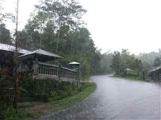 It is raining in Nan - North Thailand