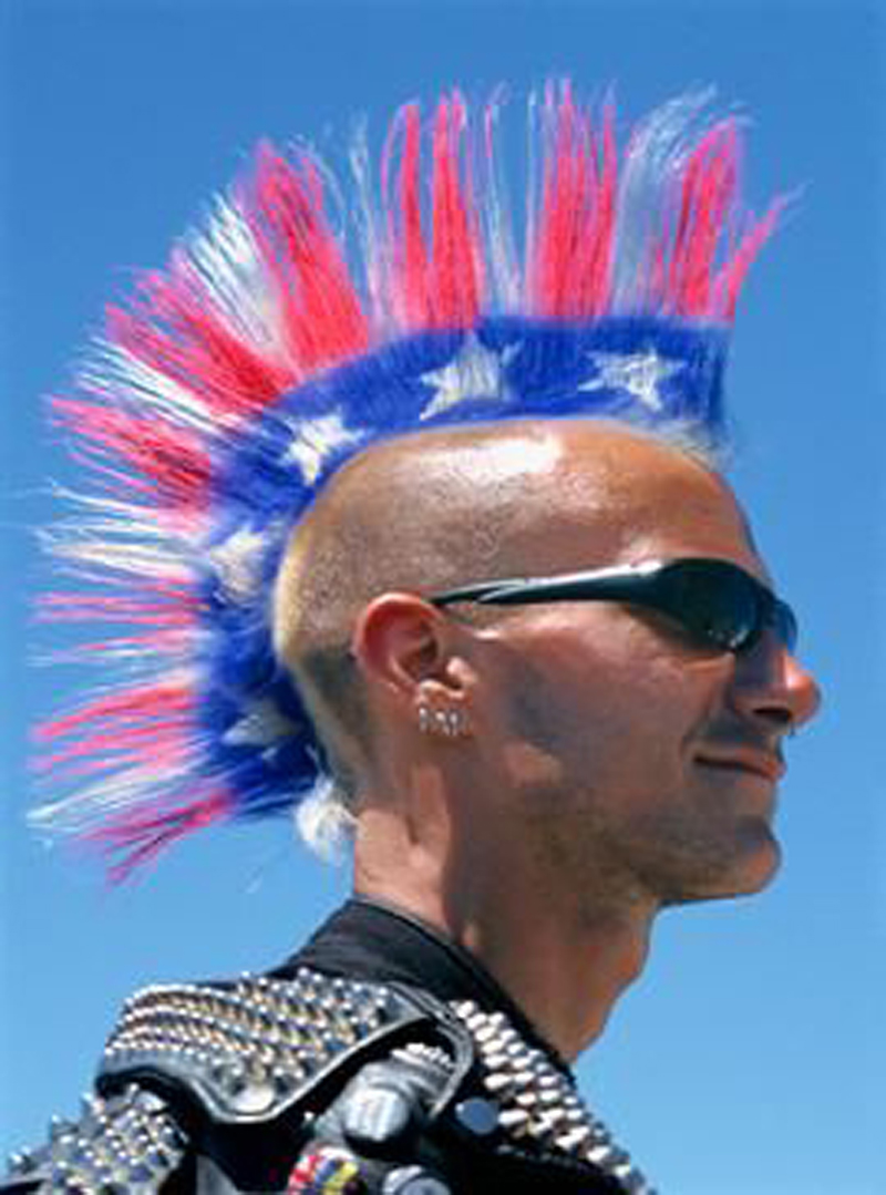 Mohawks With Colors The Haircut Web