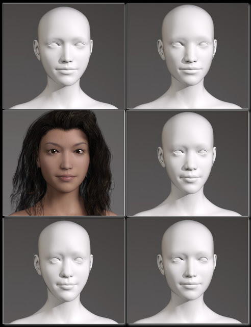People of Earth: Faces of Asia Genesis 3 Female