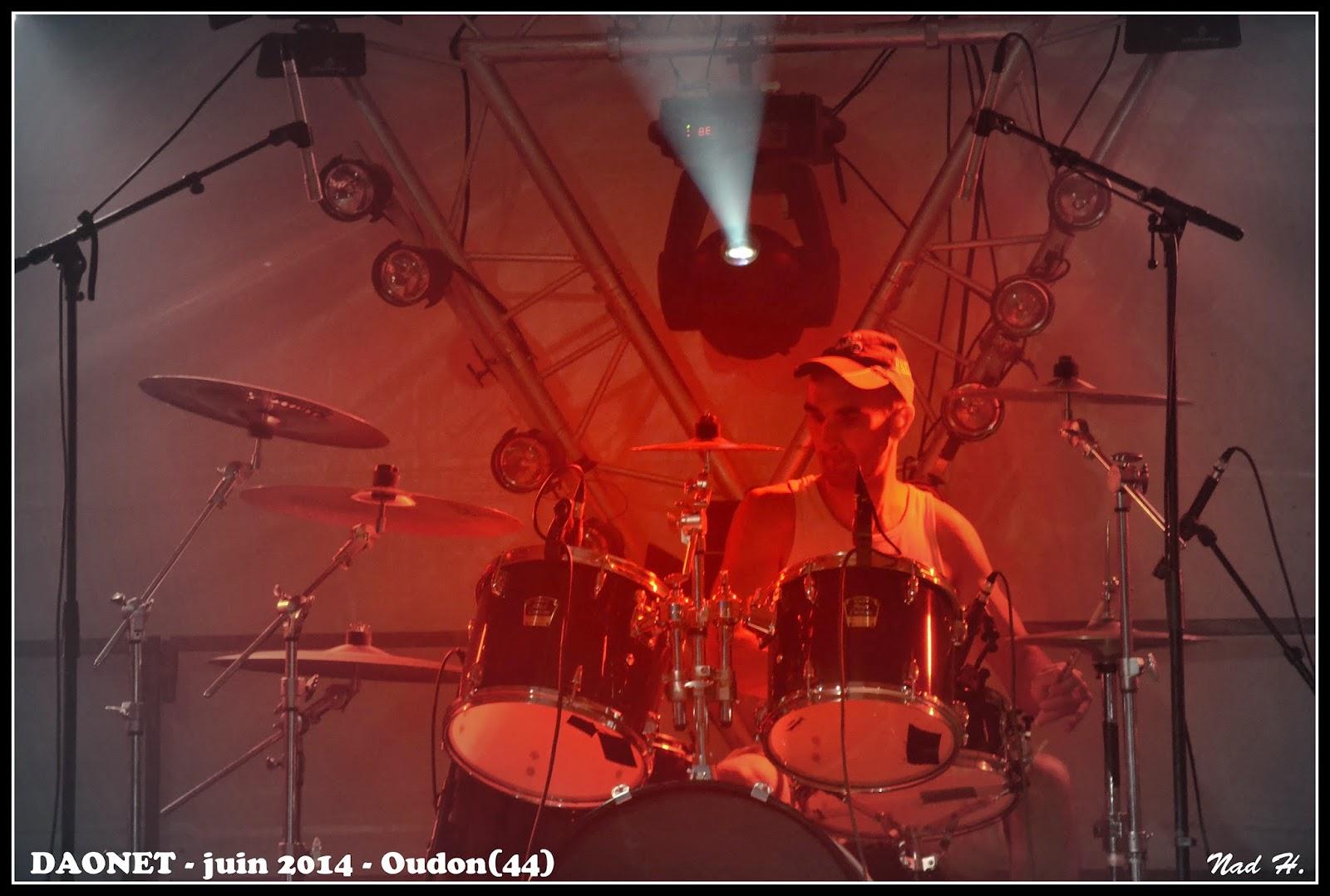 Daonet - Rock breton fête de la musique 2014 Oudon - Hervé