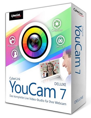 CyberLink YouCam Deluxe 7.0.2316.0 poster box cover