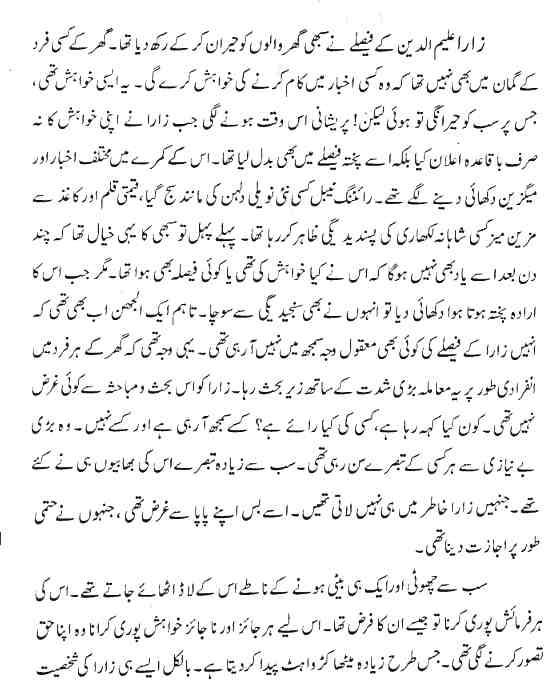 Fareeha Kausar Novels