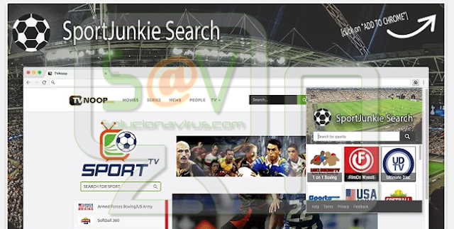 SportJunkie Search (Hijacker)