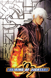 The King of Fighters 99+arcade+game+portbale+retro+fighter+art+flyer