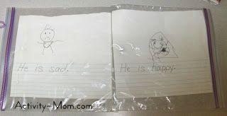 make a plastic bag book