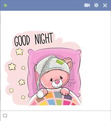Good Night Kitty Icon