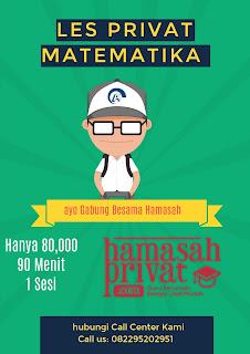 Les privat Matematika Bandung