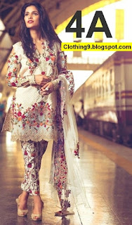 Mina Hasan Lawn Eid Collection 2016-2017 with Prices