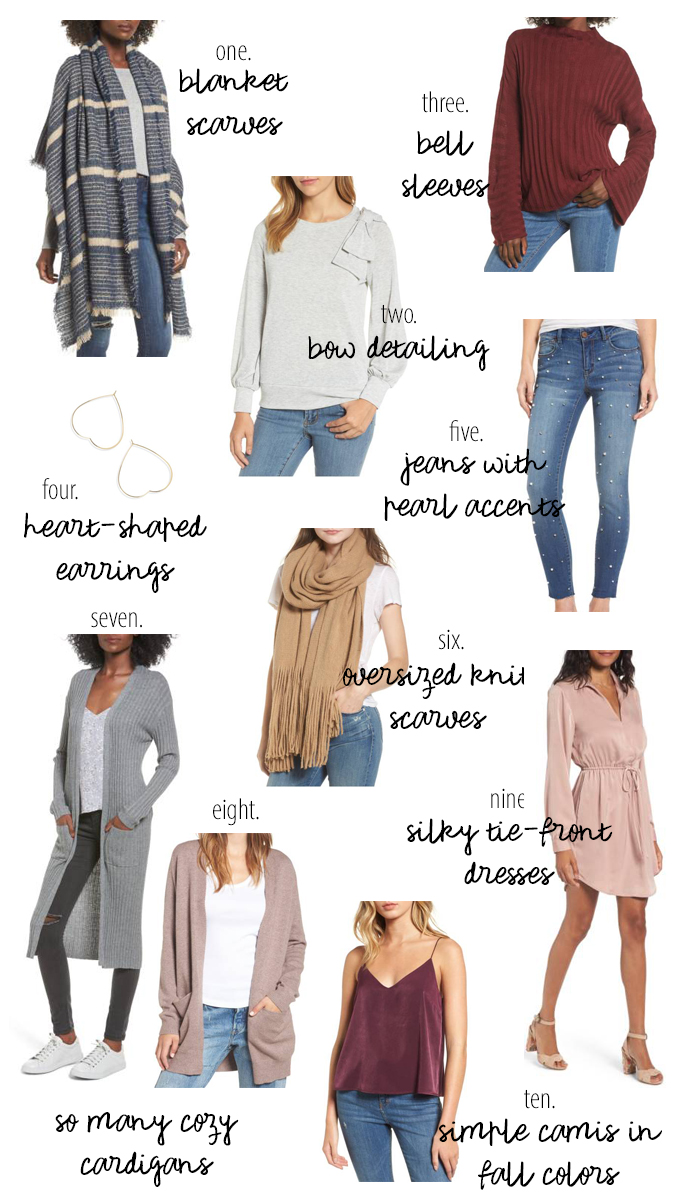 ten fall favorites on-trend under $50