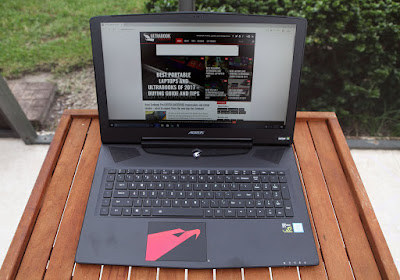 Review Laptop Gaming Gigabyte Aorus X7 DT v7 - 30kbps