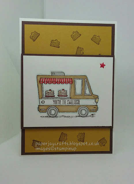 Stampin Up, Tasty Trucks Stamp Set, Paperjay Crafts