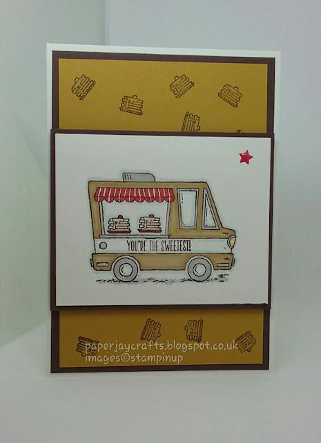 Stampin Up, Tasty Trucks Stamp Set, Paperjay Crafts