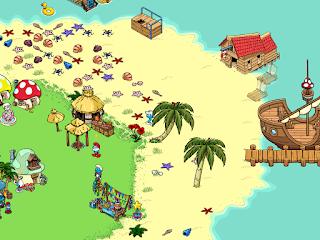 Smurfs Village / Il Villaggio dei Puffi Isola