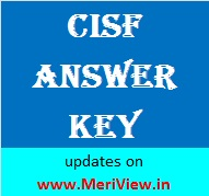 CISF Answer key