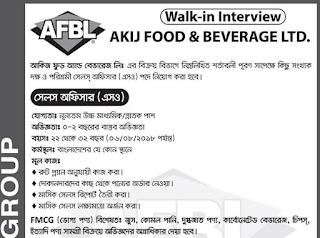 Akij Food and Beverage Limited Job Circular 2018