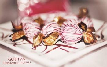 Wallpaper: Godiva Peppermint Truffles