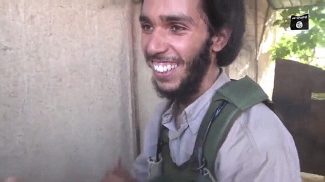See shocking moment ISIS terrorist heard he would be a suicide bomber