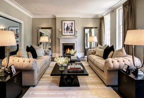 Comfortable Living Room Ideas to Bring Elegantly