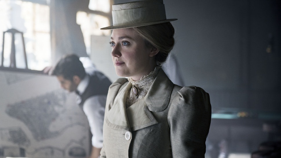 Dakota Fanning es Sara en The Alienist