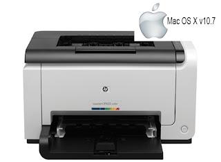 HP Laserjet P1025 - Mac OS X v10.7