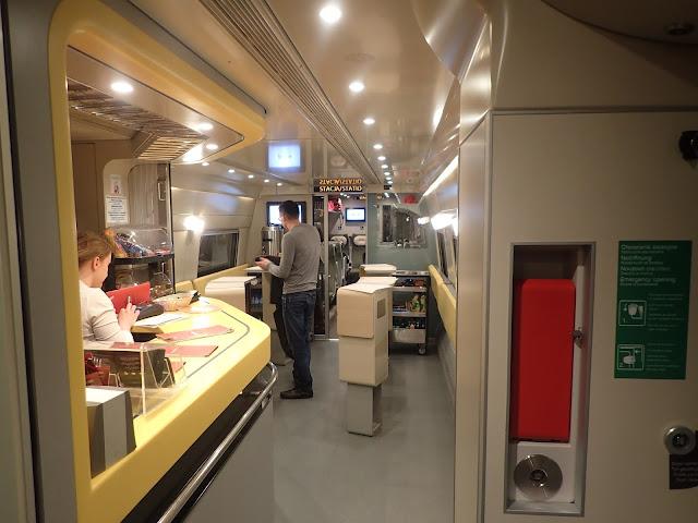 Wagon barowy w Express Intercity Premium