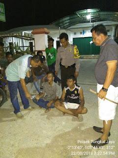 Bermodalkan Pistol Mainan, 2 Remaja di Kecamatan Tungkal Jaya Lancarkan Aksi Penodongan