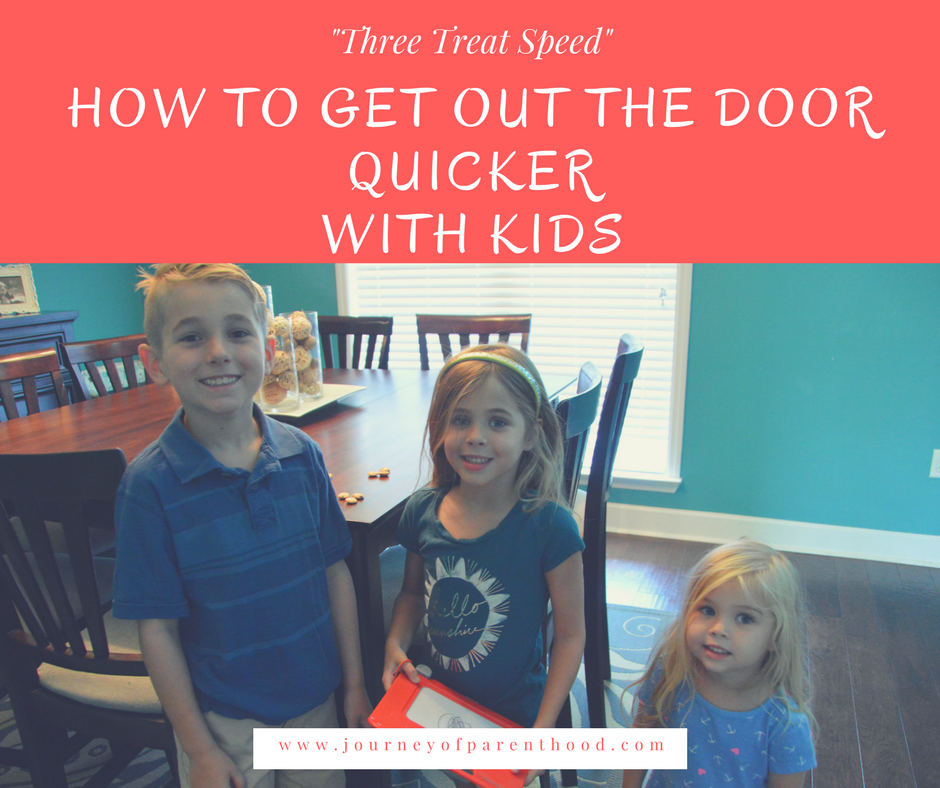 How To Get Out The Door Quicker with Kids