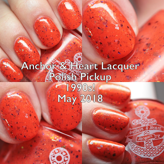 Anchor & Heart Lacquer Polish Pickup 1990s! May 2018