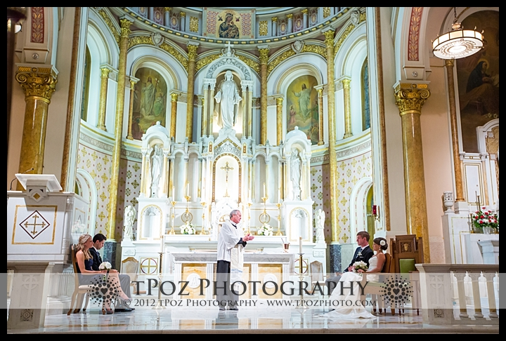 Sacred Heart of Jesus Wedding Ceremony