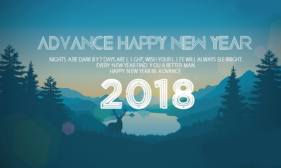 Happy New Year 2018 3D Images