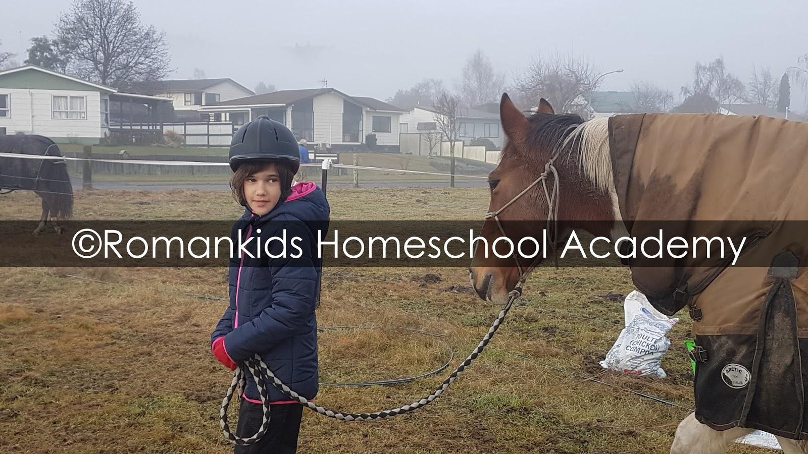Romankids homeschool academy week 9 term 2 2017 for Where to go horseback riding near me