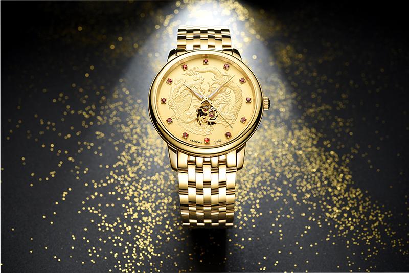 đồng hồ vàng lộ máy