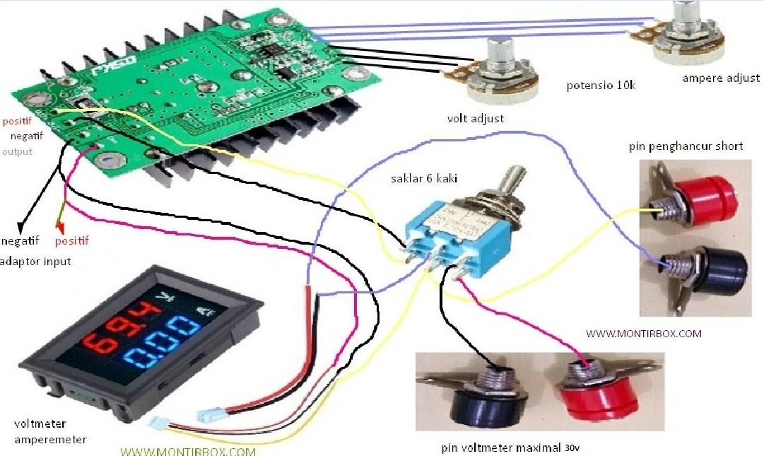 cara membuat alat penghancur short murah 12 ampere