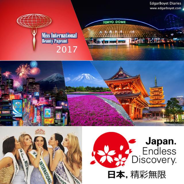 Miss Universe 2017-Miss Earth 2017-Miss International 2017-Elite Pageants-Japan-Tokyo
