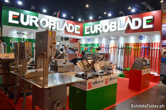 Euroblade Exhibit Booth