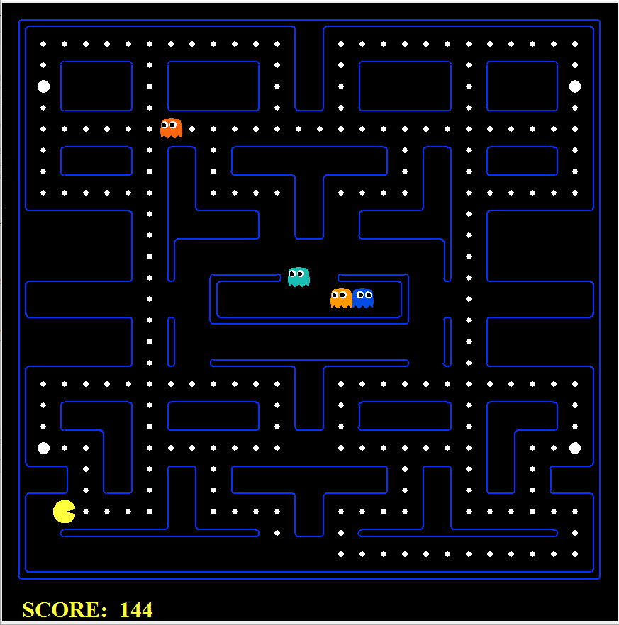 Implementation of Intelligent Agents For Pac-Man Game